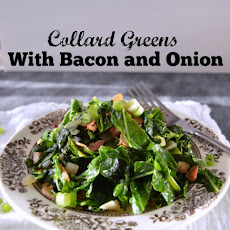 Collard Greens with Bacon and Onion