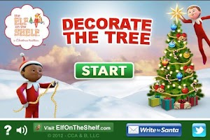 Screenshot of Decorate the Christmas tree