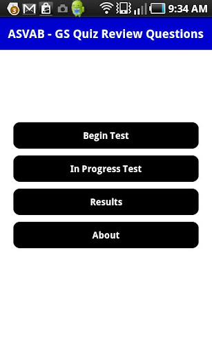ASVAB General Science Quiz