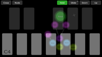 Screenshot of Jasuto modular synthesizer
