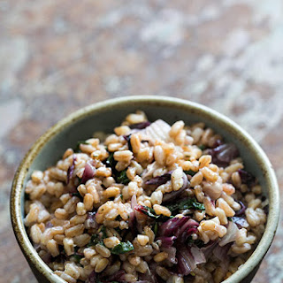 Farro with Swiss Chard and Radicchio