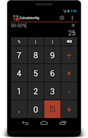 Screenshot of CalculatorNg - Calculator