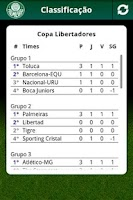 Screenshot of Palmeiras Mobile
