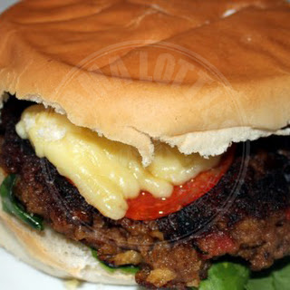 Cory's Homemade Pepperoni and Sun-dried Tomato Burgers