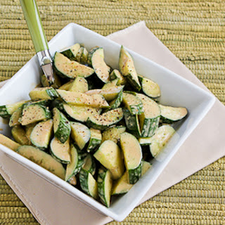 Cucumber Salad with Balsamic Dressing