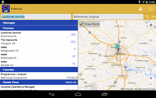 Screenshot of VAWorks