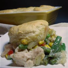 Easy A La King Biscuit Casserole