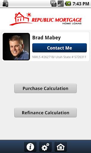 Brad Mabey Mortgage Calculator