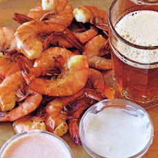 Shrimp with Three Dipping Sauces Recipe