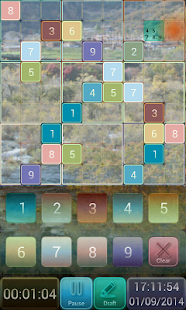 Colorful Sudoku - screenshot