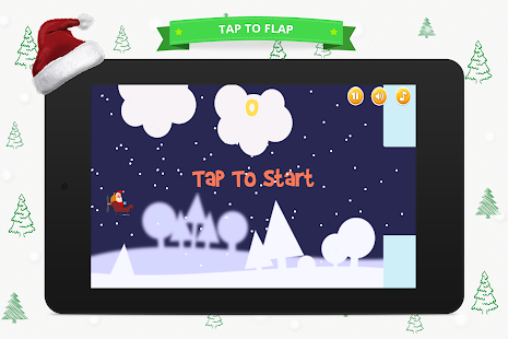Flappy Santa - screenshot