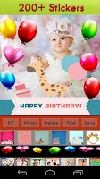 Screenshot of Happy Birthday Frames