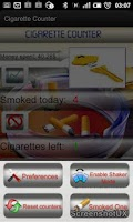 Screenshot of Cigarette Counter