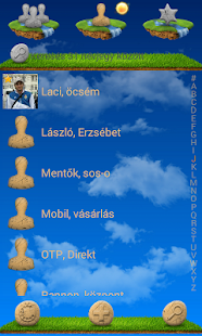 exDialer Floating Island Theme - screenshot