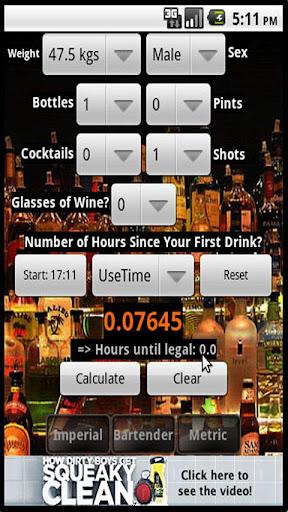 Bac Calc w Bartender