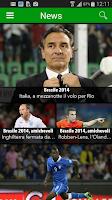 Screenshot of Diretta Brasile 2014