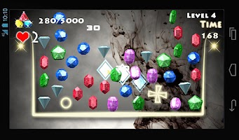 Screenshot of Jewels Blast - Diamond Pro