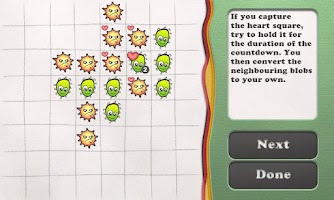 Screenshot of Reversi Paper Blobs