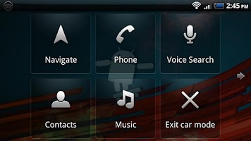 Screenshot of Disable Car Home
