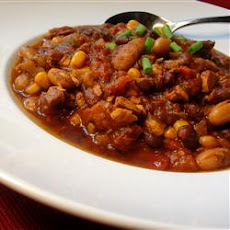 Chicken and Two Bean Chili
