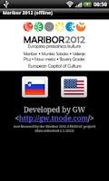 Screenshot of Maribor 2012 (offline)
