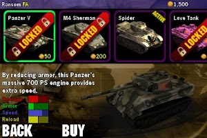 Screenshot of Tanked