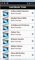 Screenshot of Cool Movie Trivia