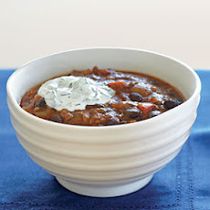 Black Bean-Salsa Chili