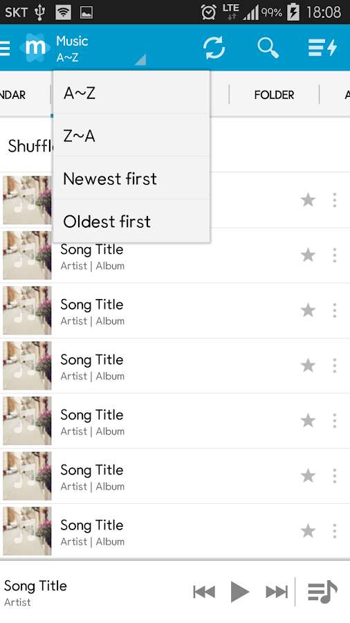 Star Music Player Screenshot 3