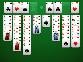 Screenshot of FreeCell Solitaire+