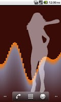 Screenshot of Dancing Girl LWP Free