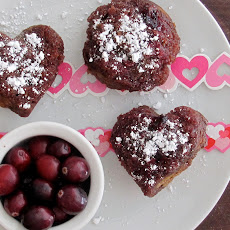 Lovely Cranberry Upside Down Muffins