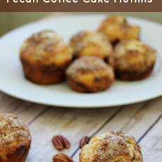 Pecan Coffee Cake Muffins