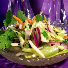 Almond Vegetable Slaw