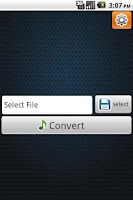 Screenshot of video converter mp3