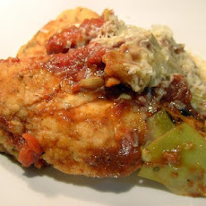 Tomato and  Artichoke Chicken Breasts