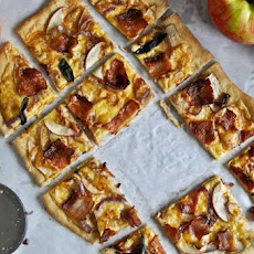 Whole Wheat Autumn Apple Pizza