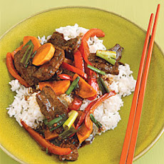 Garlicky Hoisin Beef