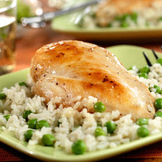 Chicken with Savory Herbed Rice
