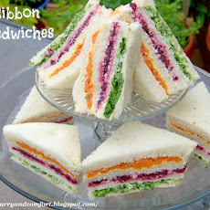 Ribbon Sandwiches and Giveaway #goodcookcom