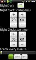 Screenshot of Night Clock