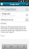 Screenshot of Calista Mail