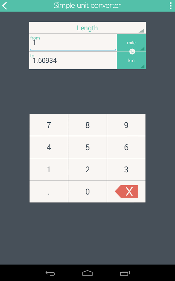 Simple Unit Converter Screenshot 14