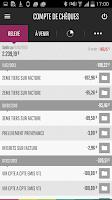 Screenshot of Mes Comptes BNP Paribas