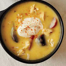 Cheesy Chicken-Potato Soup