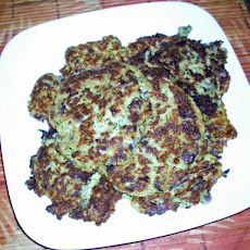 Vegan Zucchini and Potato Latkes