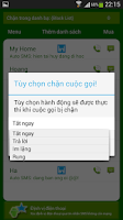Screenshot of Chan cuoc goi va SMS