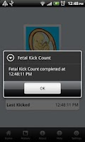 Screenshot of Fetal Kick Count
