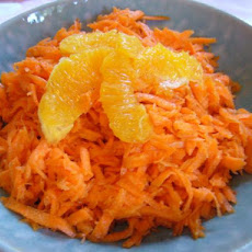 Morraccan Grated Carrot Salad With Orange