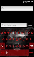 Screenshot of DarkRedICE Skin for ICS KB